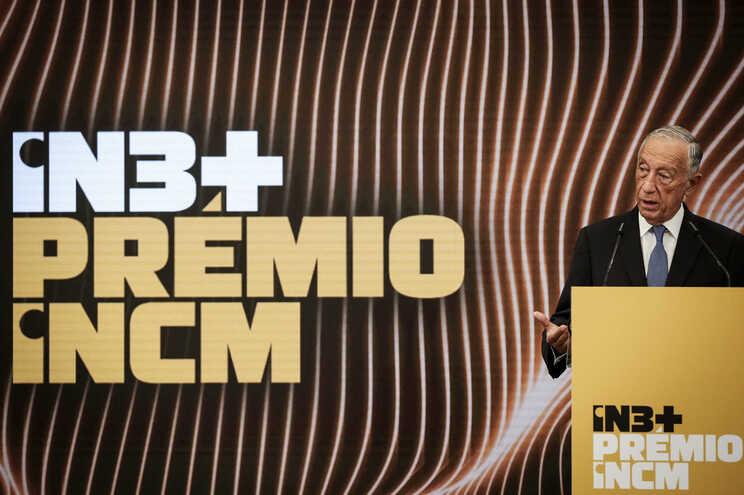 Marcelo na entrega do prémio de apoio à inovação IN3+