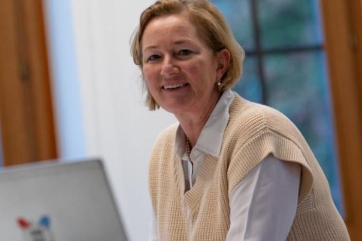 Paulette Lenert, ministra da Saúde do Luxemburgo