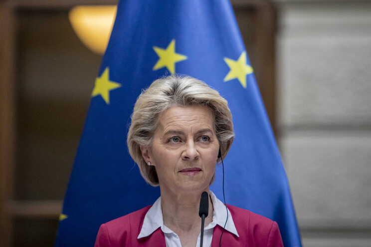 A presidente da  Comissão Europeia, Ursula von der Leyen