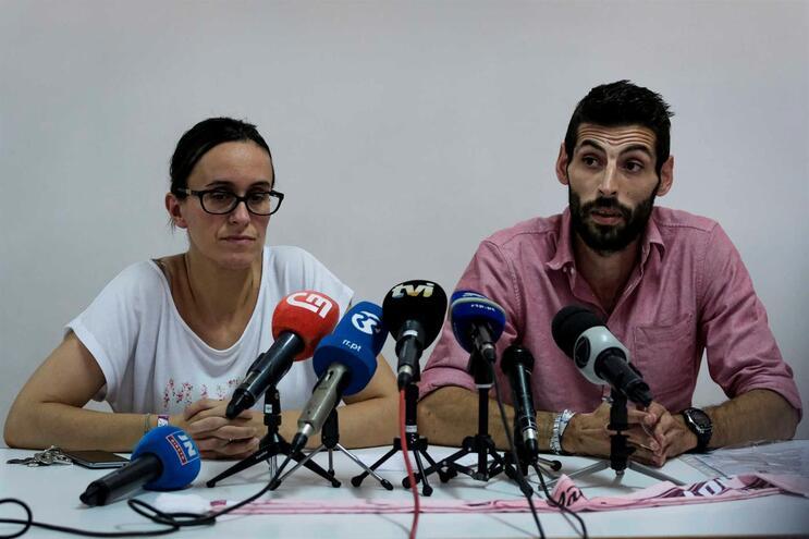 Pais de Matilde explicaram pormenores sobre conta solidária em conferência de imprensa