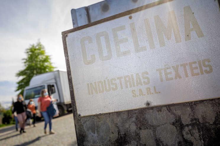 Têxtil Coelima, em Pevidém