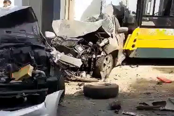 Bebé ferido em acidente com autocarro da Carris em Lisboa
