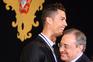 Cristiano Ronaldo e Florentino Pérez em 2014
