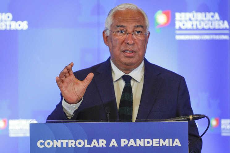 """António Costa anunciou as medidas na """"nova fase"""" de contingência"""