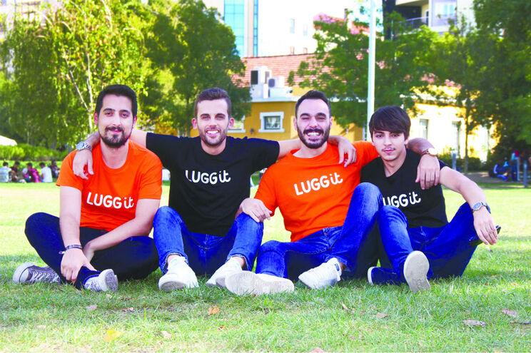 Ricardo Figueiredo, Diogo Correia, João Pedrosa e Hugo Fonseca formam a jovem equipa desta empresa