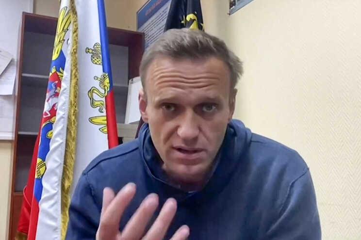 Navalny comparou a prisão onde está detido a um campo de concentração