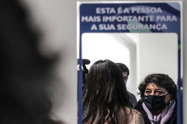 Candidata presidencial Ana Gomes