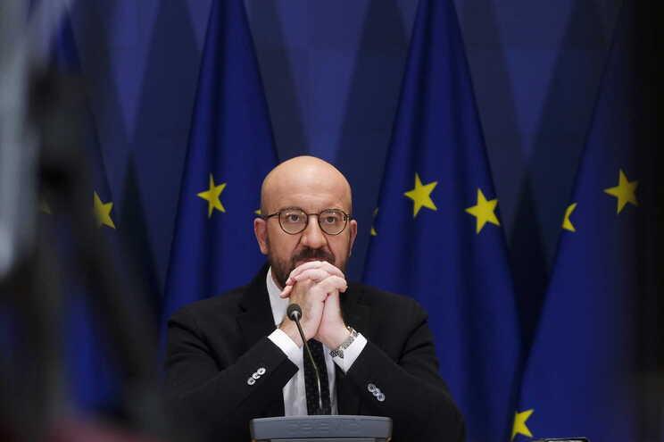 O presidente do Conselho Europeu, Charles Michel