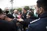 Momentos de tensão no protesto da restauração em Lisboa