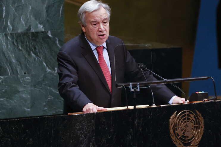 António Guterres é secretário-geral da ONU