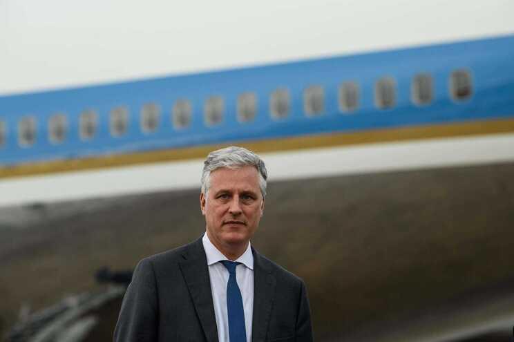 Robert O'Brien, conselheiro nacional de segurança da Casa Branca