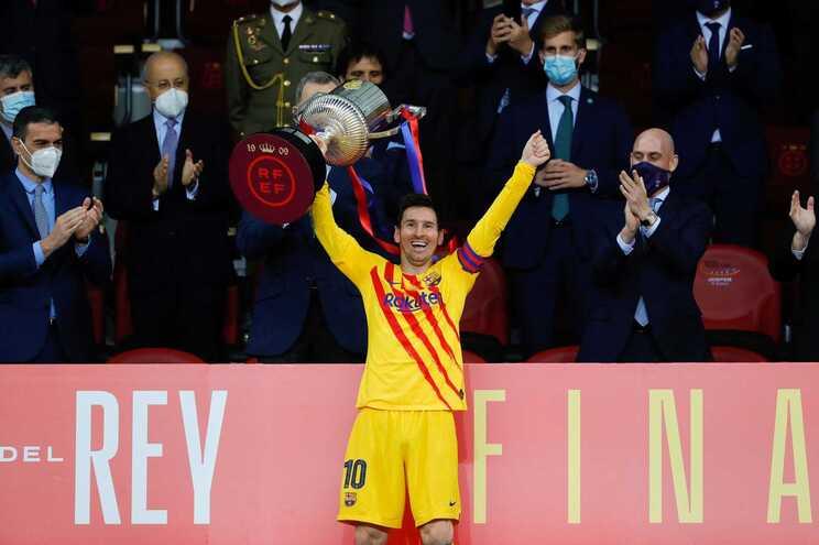 Messi bisou este sábado