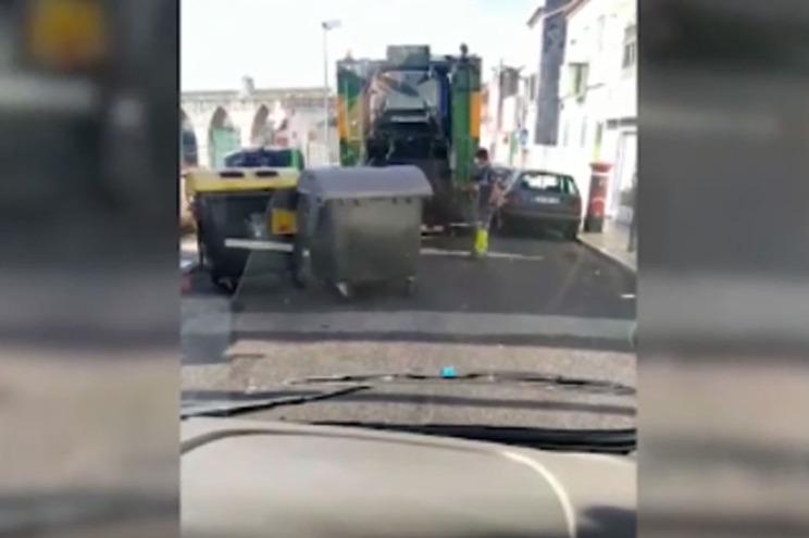 Câmara de Lisboa explica vídeo que mostra serviço de recolha a juntar lixo separado