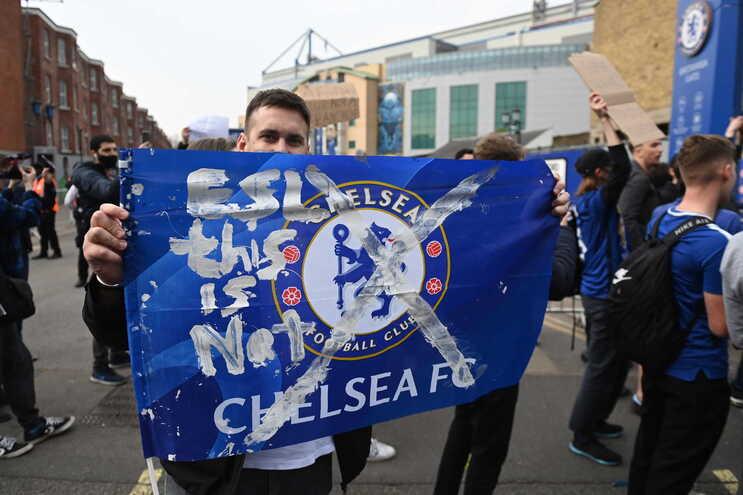 O Chelsea anunciou a saída da Superliga