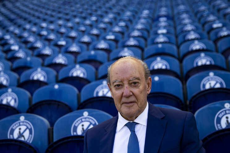O presidente do Futebol Clube do Porto, Jorge Nuno Pinto da Costa
