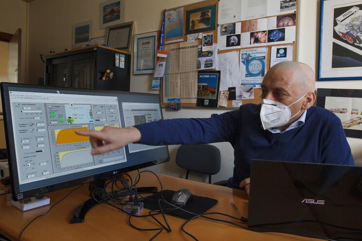 Manuel Gameiro desenvolve projeto que permite simular a quantidade do ar e eventuais vírus