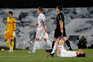 O Real Madrid empatou este domingo