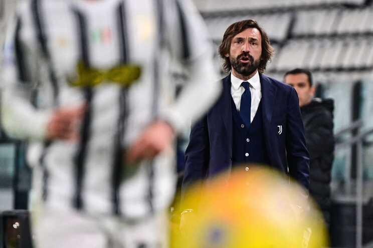 Pirlo, treinador da Juventus