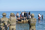 Migrantes chegaram a Ceuta a nado ou a pé. Metade deles foi expulsa