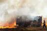 O combate ao incêndio mobiliza 435 operacionais, apoiados por 152 viaturas