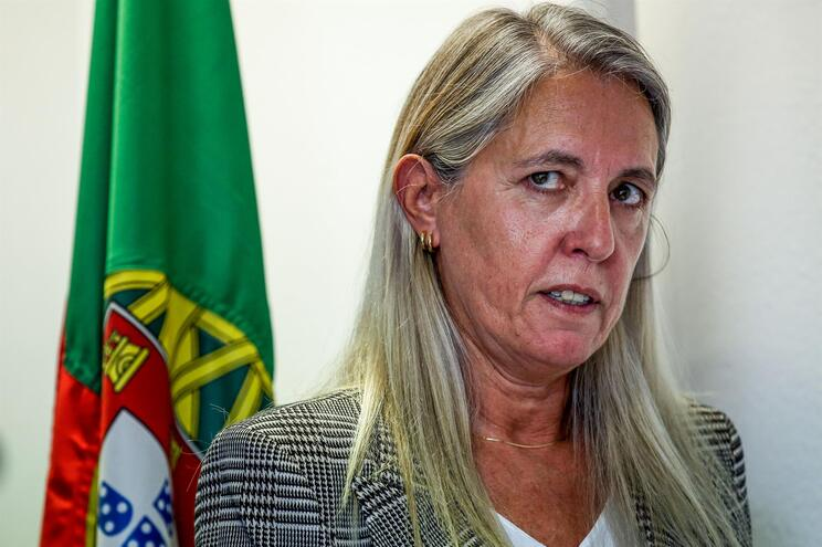 Cristina Gatões, diretora do Serviço de Estrangeiros e Fronteiras