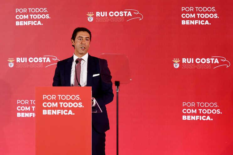 Rui Costa é o atual presidente do Benfica