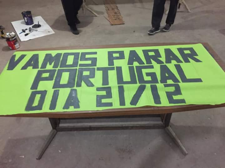 Mensagens para vir para a rua