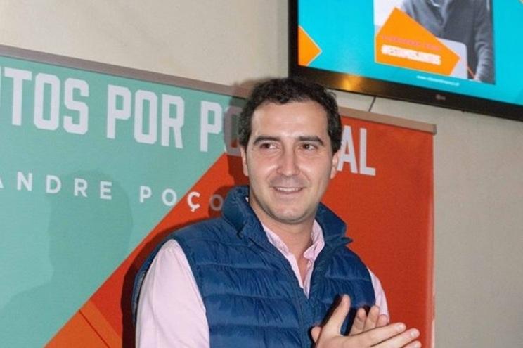 Alexandre Poço, presidente da JSD