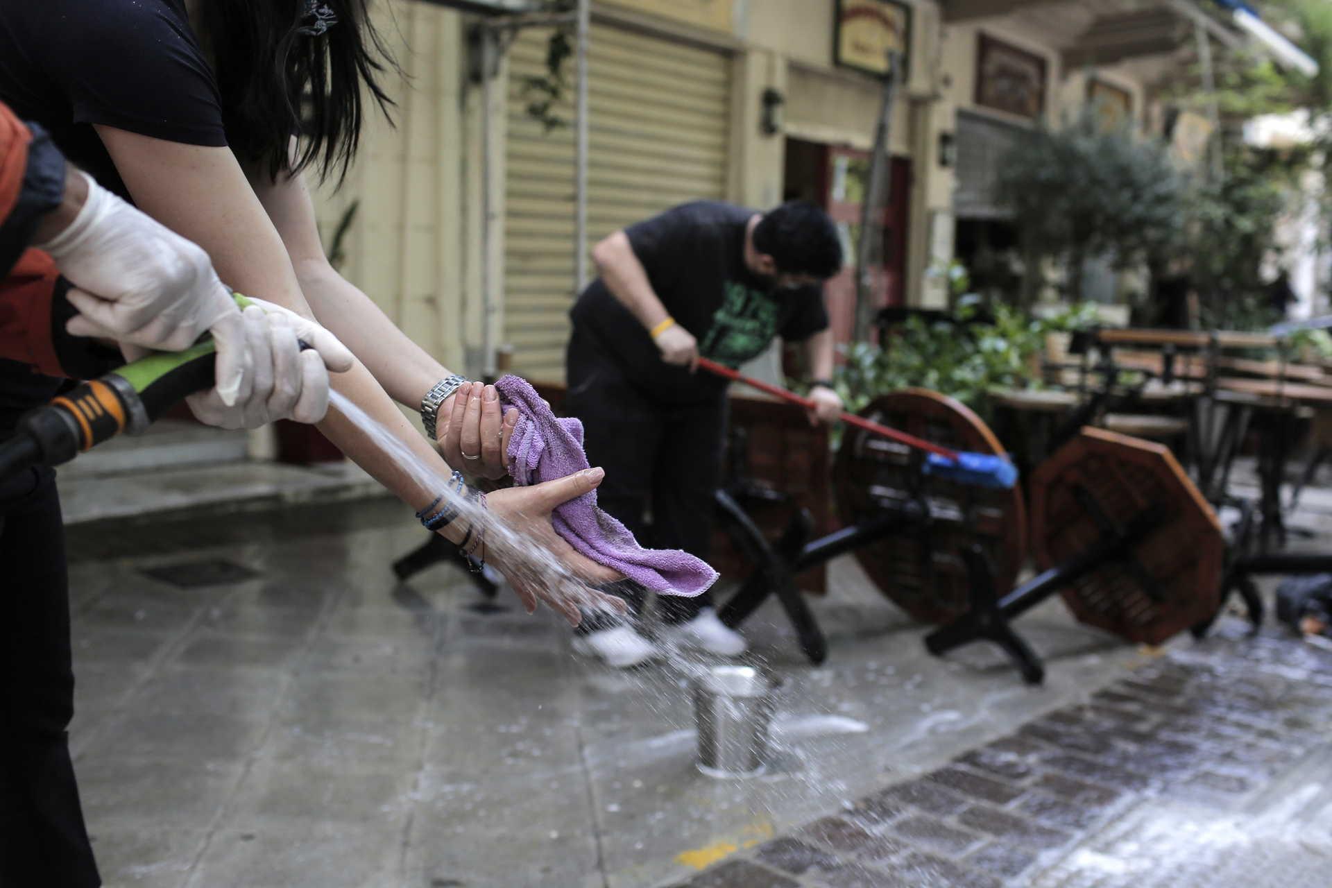 Restaurante gregos reabrem esta segunda-feira