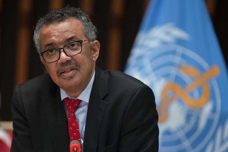 O diretor-geral da OMS, Tedros Adhanom Ghebreyesus