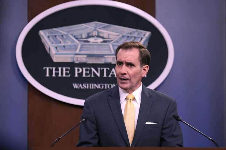 O porta-voz do Pentágono, John Kirby