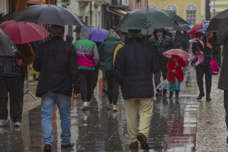Previsão de chuva durante a semana