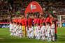 Portugal e Sérvia defrontaram-se na última qualificação para o Europeu