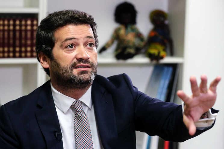 Entrevista da agência Lusa a André Ventura, líder do Chega e pré-candidato presidencial do partido