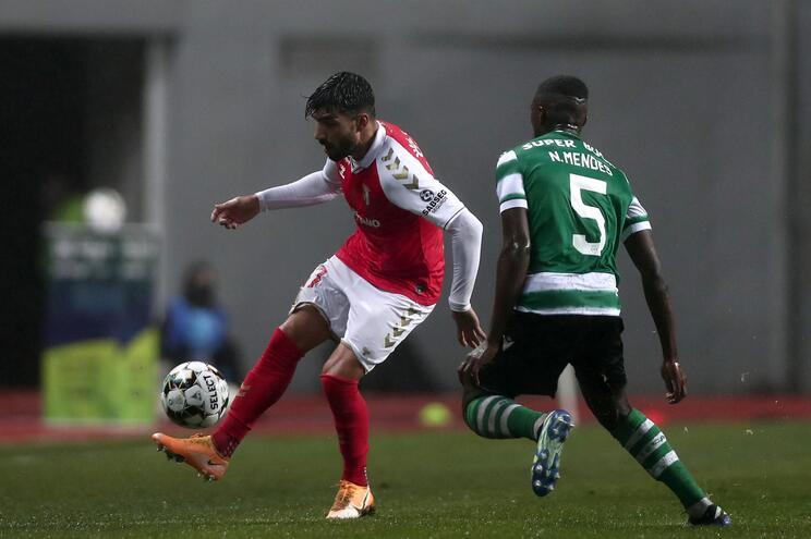 O Sporting derrotou o S.C. Braga na final da Taça da Liga por 1-0