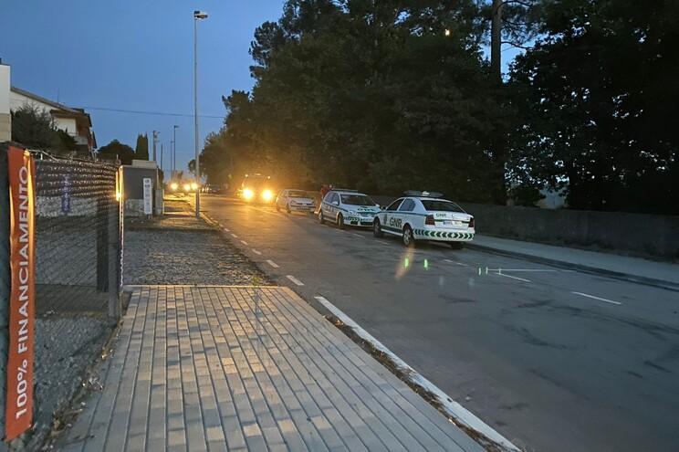 Cadastrado sem carta de condução atropelou GNR após fuga alucinante em Penafiel