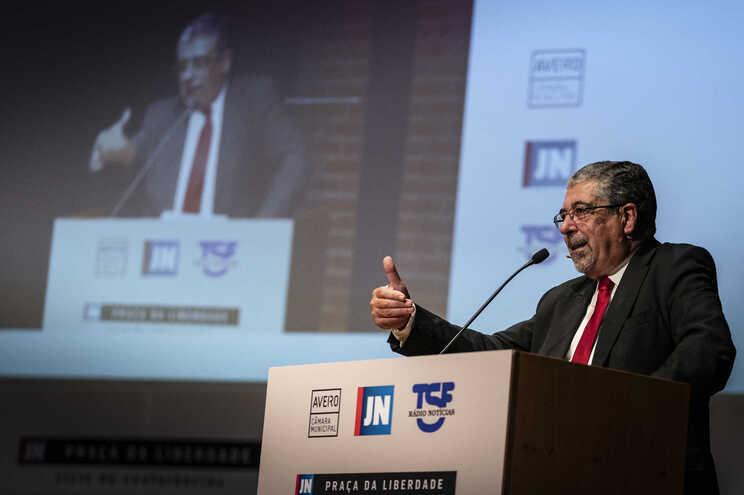 Manuel Machado, presidente da Câmara de Coimbra e presidente da Associação Nacional de Municípios Portugueses