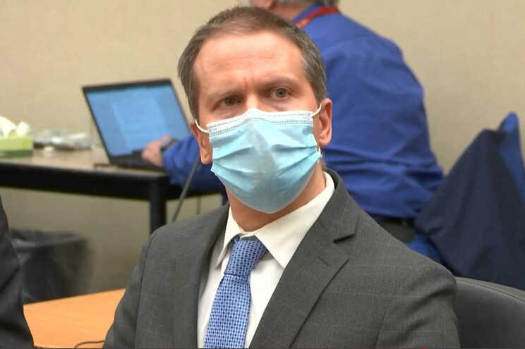 Derek Chauvin, ex-polícia da cidade norte-americana de Minneapolis e considerado culpado da morte de
