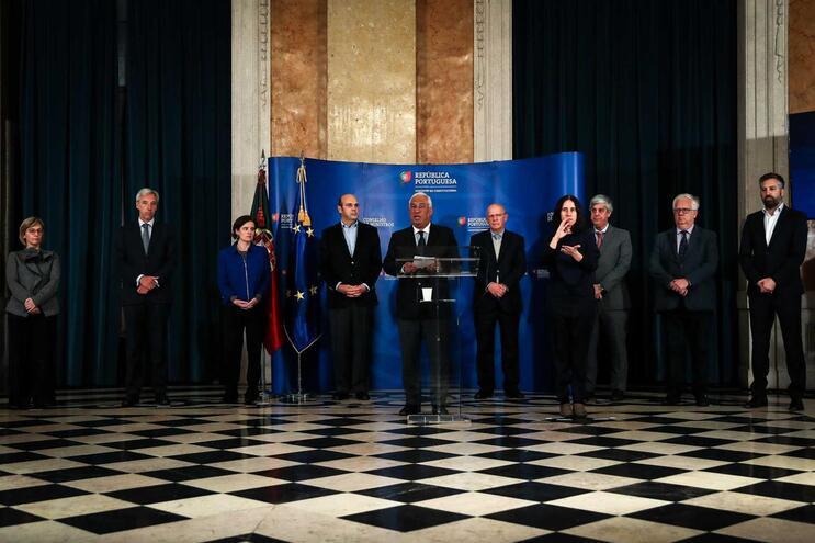 António Costa anunciou as principais medidas que concretizam a execução do decreto do Presidente da República