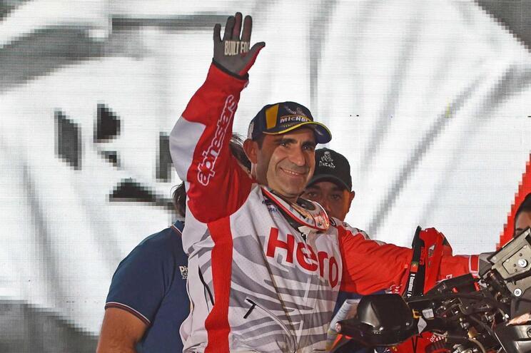 Paulo Gonçalves morreu num acidente durante o Dakar