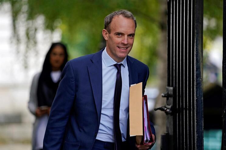 Ministro dos Negócios Estrangeiros britânicos, Dominic Raab