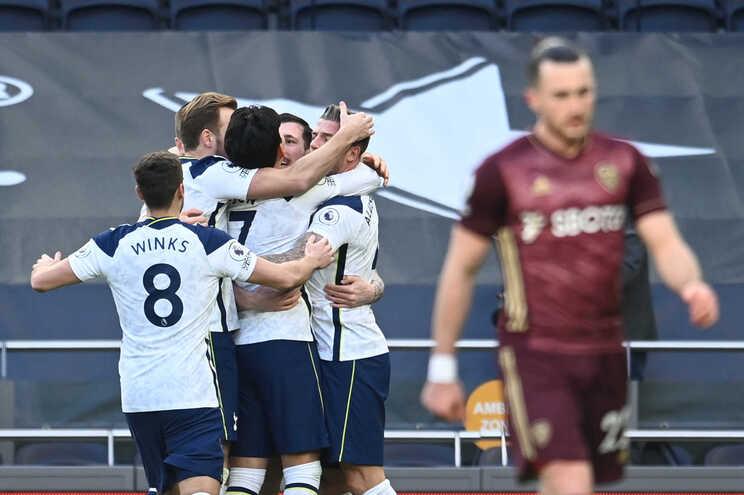 O Tottenham venceu este sábado