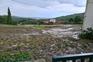 Campos alagados e culturas agrícolas destruídas em Celas, Vinhais