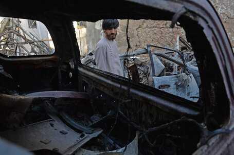 """Viatura atacada por drone dos EUA. Ataque foi """"erro trágico"""""""
