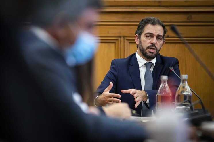 O secretário de Estado dos Assuntos Parlamentares e coordenador da Região de Lisboa e Vale do Tejo, Duarte