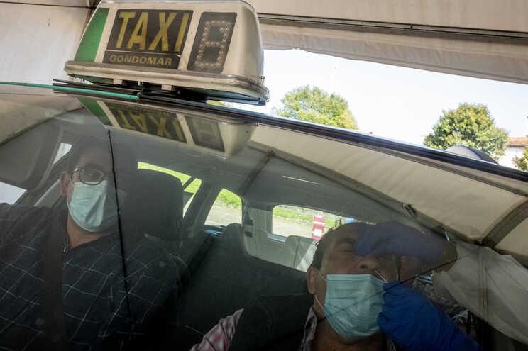 Taxistas foram testados ontem em Campanhã, no Porto