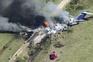 Avião incendeia-se ao descolar no Texas e todos os passageiros sobrevivem