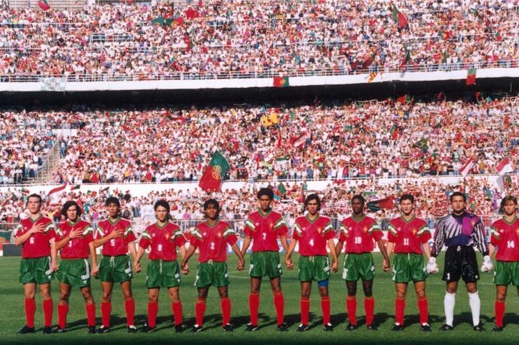 A equipa que venceu a meia-final do Mundial, diante da Austrália (1-0), na Luz