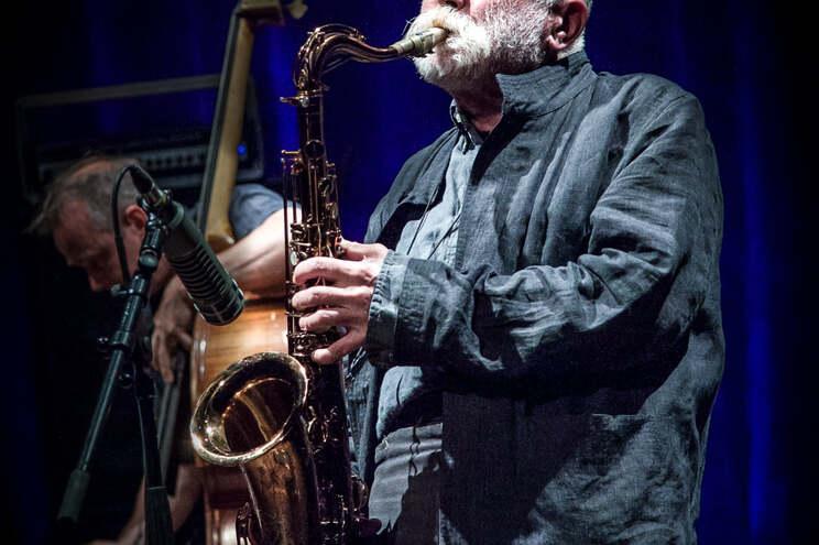 Peter Brötzmann em concerto