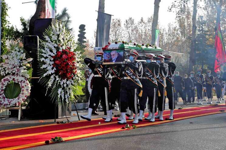 Funeral do cientista Mohsen Fakhrizadeh